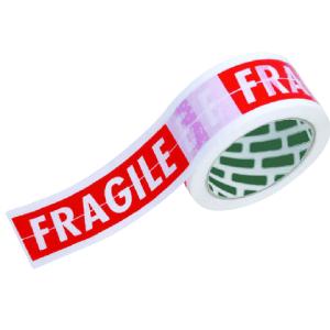 סרטי הדבקה מודפסים FRAGILE אקרילי