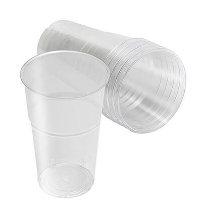 כוסות פלסטיק חד פעמיות במבחר סוגים