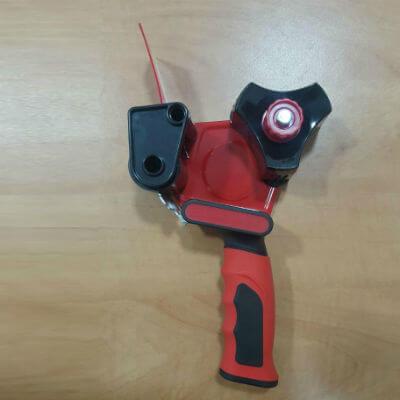 אקדח סרט הדבקה עם מנגנון הגנה אוטומטי