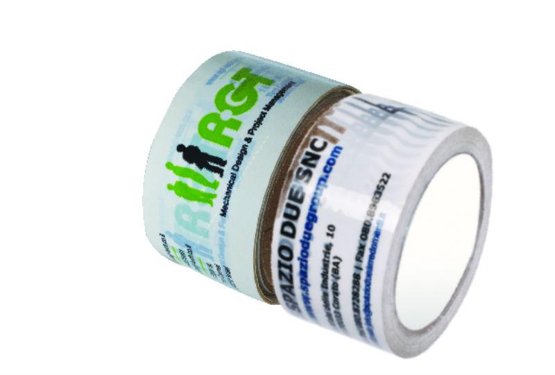 סרטי הדבקה מודפסים 2 צבעים PVC